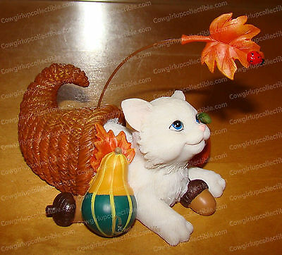 4027983 - Plenty Thankful for You (Charming Purr..sonalities) Thanksgiving Cat
