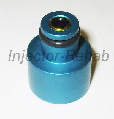 Fuel Injector 1000cc Adapter Hats with Filters 48mm EV14 -> 11mm EV1 60mm