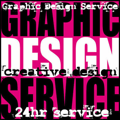 24hr graphic design service for any of our printed products