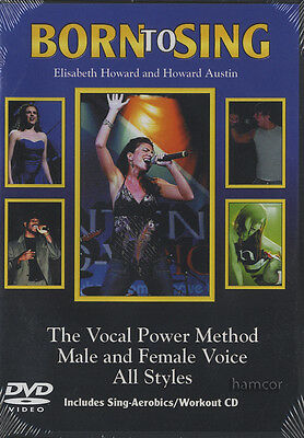 Born to Sing Vocal Power Method DVD/CD Learn How to Sing Method