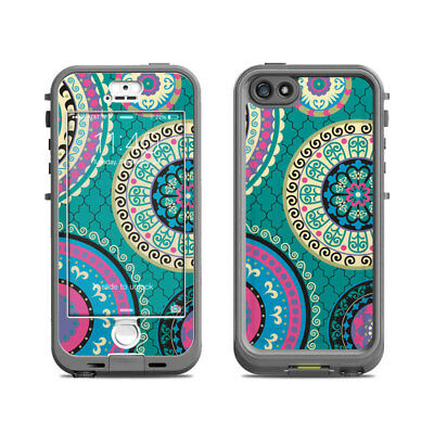 Skin for LifeProof Nuud iPhone 5S - Silk Road by Debra Valencia - Sticker Decal