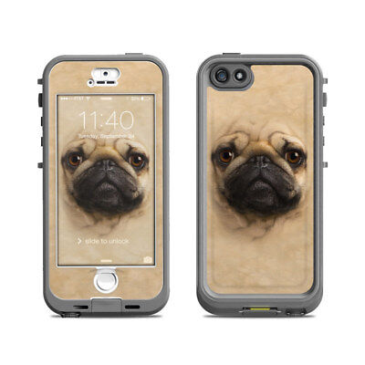 Skin for LifeProof Nuud iPhone 5S - Pug by The Mountain - Sticker Decal