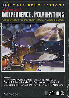 Advanced Independence & Polyrhythms DVD Ultimate Drum Lessons