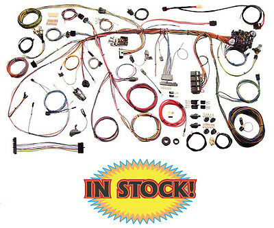 american autowire 510243 - 1970 ford mustang classic update wiring harness