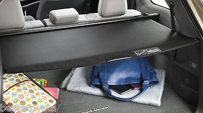 2014-2019 Highlander Cargo Area Cover Black Pt731-48140 Genuine Toyota Accessory