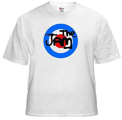 Tee Shirt new adult unisex  featuring punk greats THE JAM logo on cotton t-shirt