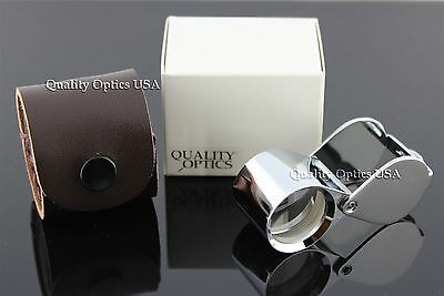 Triple Element Magnifier Jewelers Loupe Magnifying Glass Hastings Triplet Lens