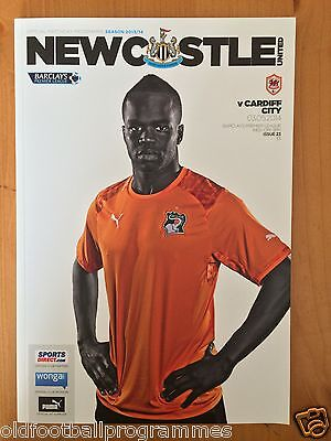 Newcastle United V Cardiff City (03/05/2014) *Cheick Tiote Special Cover*