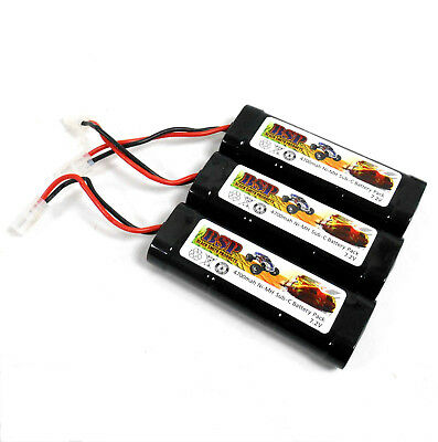 BSP RC Electric Model 7.2v 4700mah Ni-MH Rechargeable Battery Pack Tamiya x 3