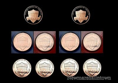 2013 2014 P+D+S Lincoln Shield Mint Proof Set ~ PD from Mint Set & Bank Roll