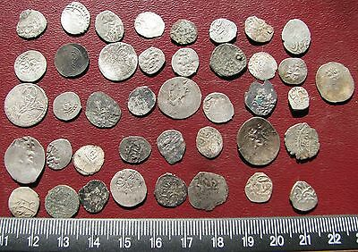 Ancient Ottoman Empire   Lot of 40 Akce and Para Coins  12085
