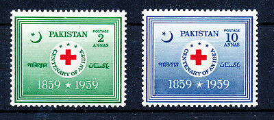 Pakistan 1959 Red Cross  Mnh