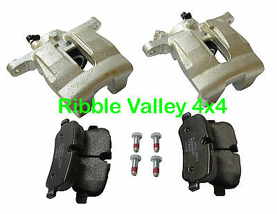 Land Rover Discovery 3 4 New Rear N/S & O/S Brake Calipers And Mintex Pads