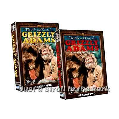 The Life and Times of Grizzly Adams: Complete Series Seasons 1 & 2 Box/DVD Sets