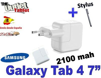 CARGADOR PARED PARA TABLET SAMSUNG  GALAXY TAB 4 2100 MAH  USB  WALL Charger