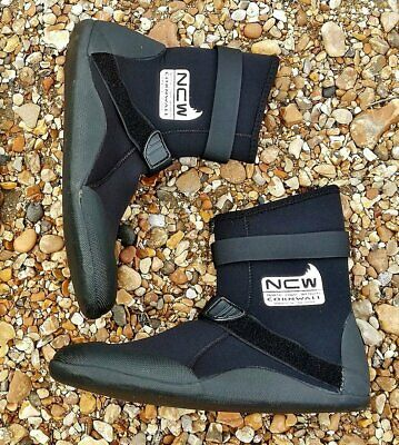 4mm thermal lined wetsuit surf boot - v.warm -all sizes