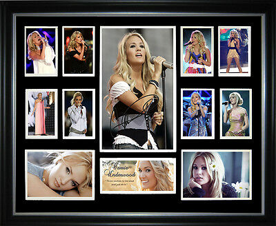 Carrie Underwood Signed Framed Memorabilia