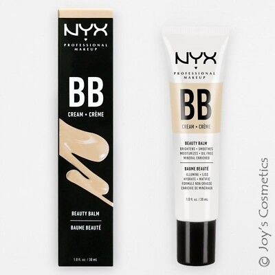 """1 NYX BB Cream """" BBCR01 - Nude """" (Oil Free & Mineral Enriched) *Joy's cosmetics*"""