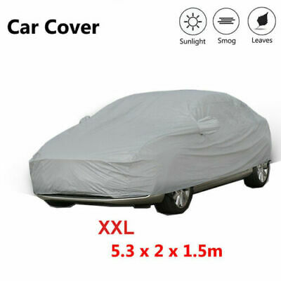 XXL Universal Car Cover UV Resistance Anti Scratch Dust Dirt Full Protection
