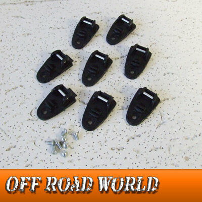 NEW Fox F3/Comp 5/Youth Comp 5Y/3Y MX Motocross Boot Buckle Base Kit Black