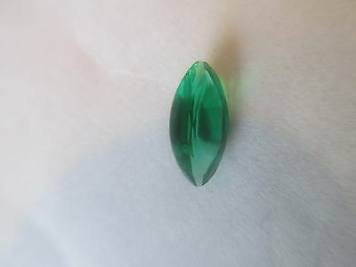 .90ct Loose Marquise Cut Lab Created Emerald 10 x 5 x 3.5mm