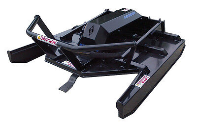 "Blue Diamond Extreme Duty 72"" Open Front Brush Cutter Skid Steer Attachment"