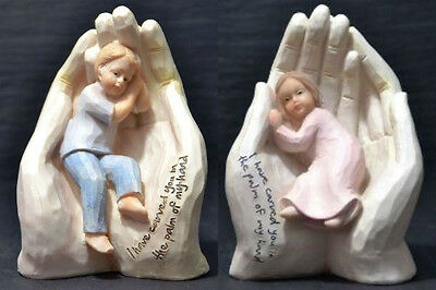 Boy Or Girl I have Carved You In The Palm Of My Hand Religious Gift