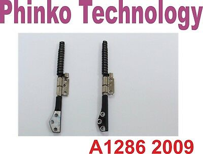 BRAND NEW Hinges for Apple Macbook Pro A1286, 2009 version Left & Right