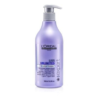 L'Oreal Professionnel Expert Serie - Liss Unlimited Smoothing Shampoo (For 500ml
