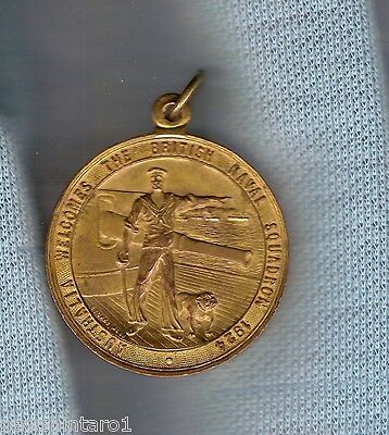 #d82. 1924 Medal - Australia Welcomes The British Naval Squadron