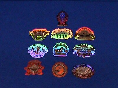 Complete Set Of 10 Orange County Choppers Series 2 Stickers