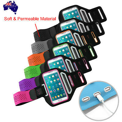 Sports Gym Running Slim Armband for Samsung Galaxy S9 S8 Plus Arm Band Case OZ