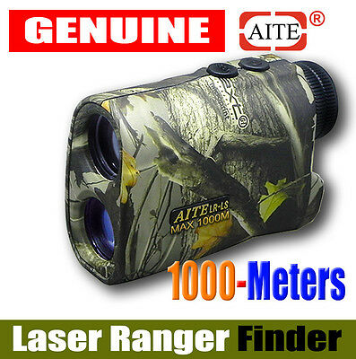 Aite 1000M Camouflage Laser Range Finder Archery Bow Hunting Deer Shooting Camo