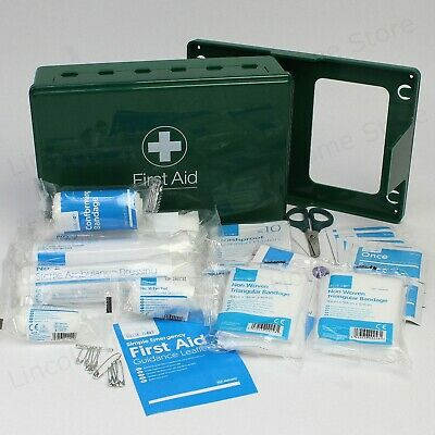 Passenger Carrying Vehicle (PCV) First Aid Kit in Box for Bus, Coach, Taxi. Qty2