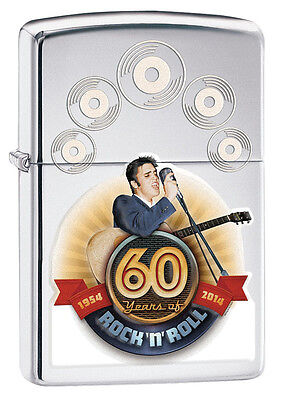 Zippo Elvis 60th Anniversary Windproof Lighter 28803 New