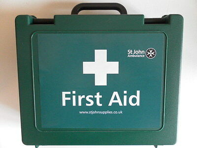 St John Ambulance Workplace Catering First Aid Kit - Medium 20 Person