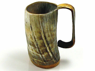 Large Ox Horn Tankard by Abbeyhorn Game of Thrones 2 Finishes Mug Beer Viking