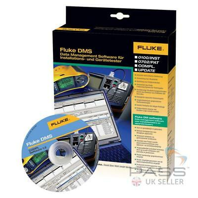 *Clearance* Fluke DMS COMPL Software for 1653 MFT & 6500 PAT Tester / UK