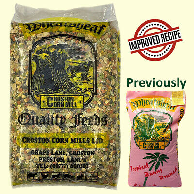 20kg Wheatsheaf TROPICAL Rabbit Brunch with Banana - Fruit Mix Bunny Food Feed