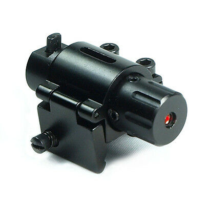 New Mini Hunting 20mm Rail Mount Red Dot Laser Sight for Pistols Handgun