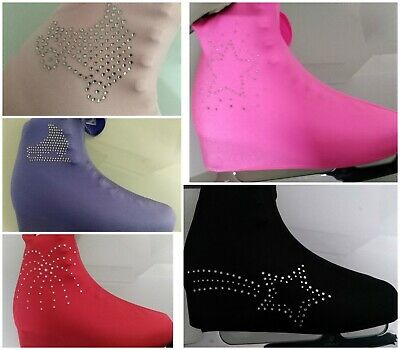 Lycra Skating Boot Covers With Added Diamonte Bling !!!