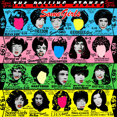 """Album Covers - The Rolling Stones - Some Girls (1978) Album Poster 24"""" x 24"""""""