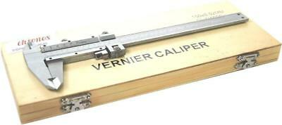 "Traditional Vernier Caliper 6""/150 Mm With Fine Adjustment From Chronos"
