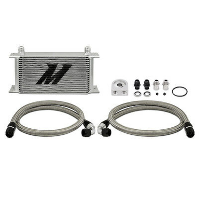 Mishimoto Universal 19 Row Oil Cooler Kit - Silver