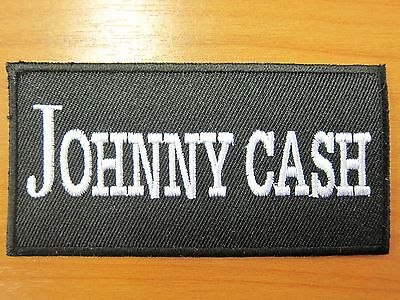 Johnny Cash embroidered Iron on Patch High Quality Shirt Bag Cap