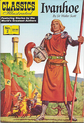 Modern Classics Illustrated Canadian Issue Ivanhoe