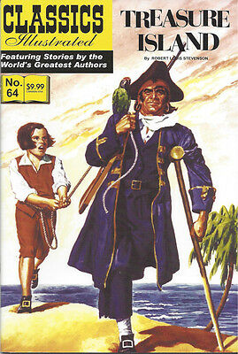 Modern Classics Illustrated Canadian Issue Treasure Island