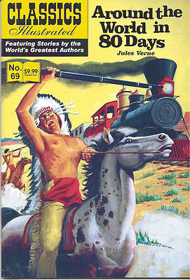 Modern Classics Illustrated Canadian Issue Around The World In 80 Days