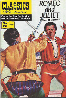 Modern Classics Illustrated Canadian Issue Romeo And Juliet