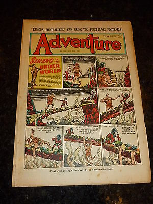 ADVENTURE Comic - No 1397 - Date 27/10/1951 - UK Paper Comic (King-Kong)